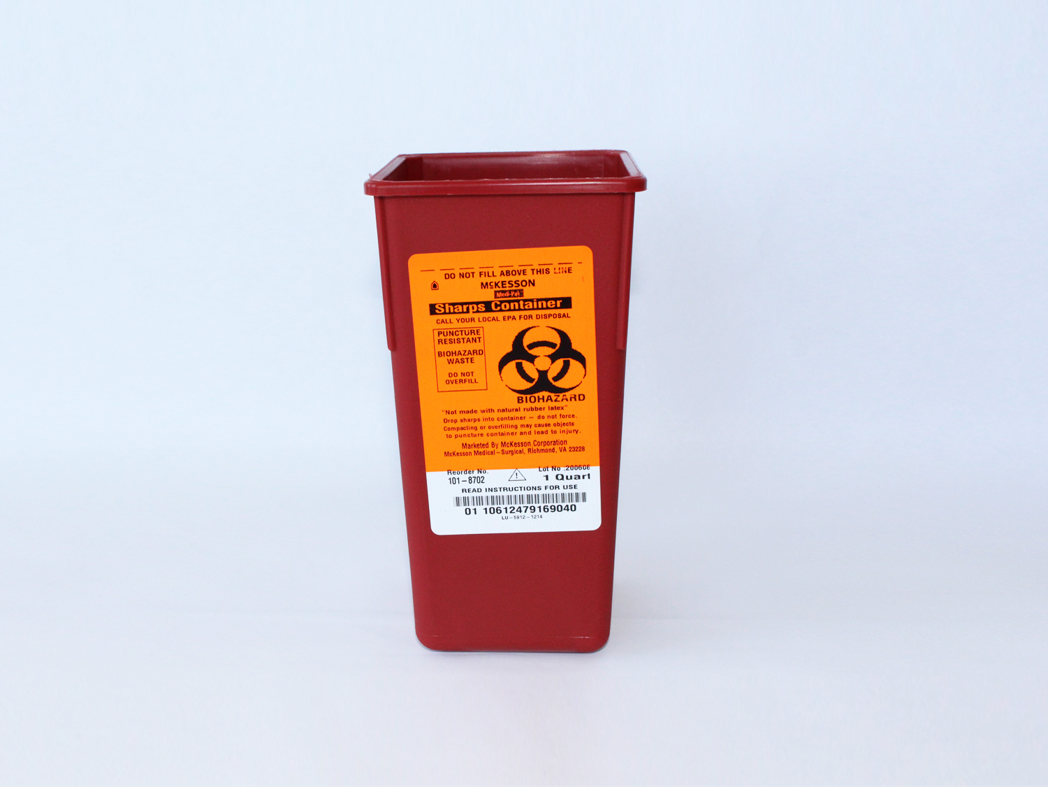 Sharps Container (small) - The Grand Rapids Red Project