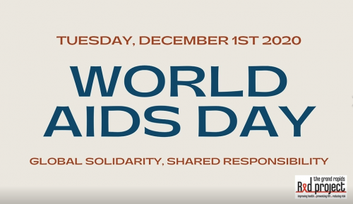 World AIDS Day 2020 - Global Solidarity, Shared Responsibility